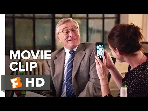 The Intern Movie CLIP - Better Late Than Never (2015) - Robert De Niro, Anne Hathaway Movie HD