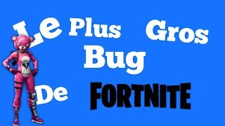 LE PLUS GROS BUG DE FORTNITE battre royal