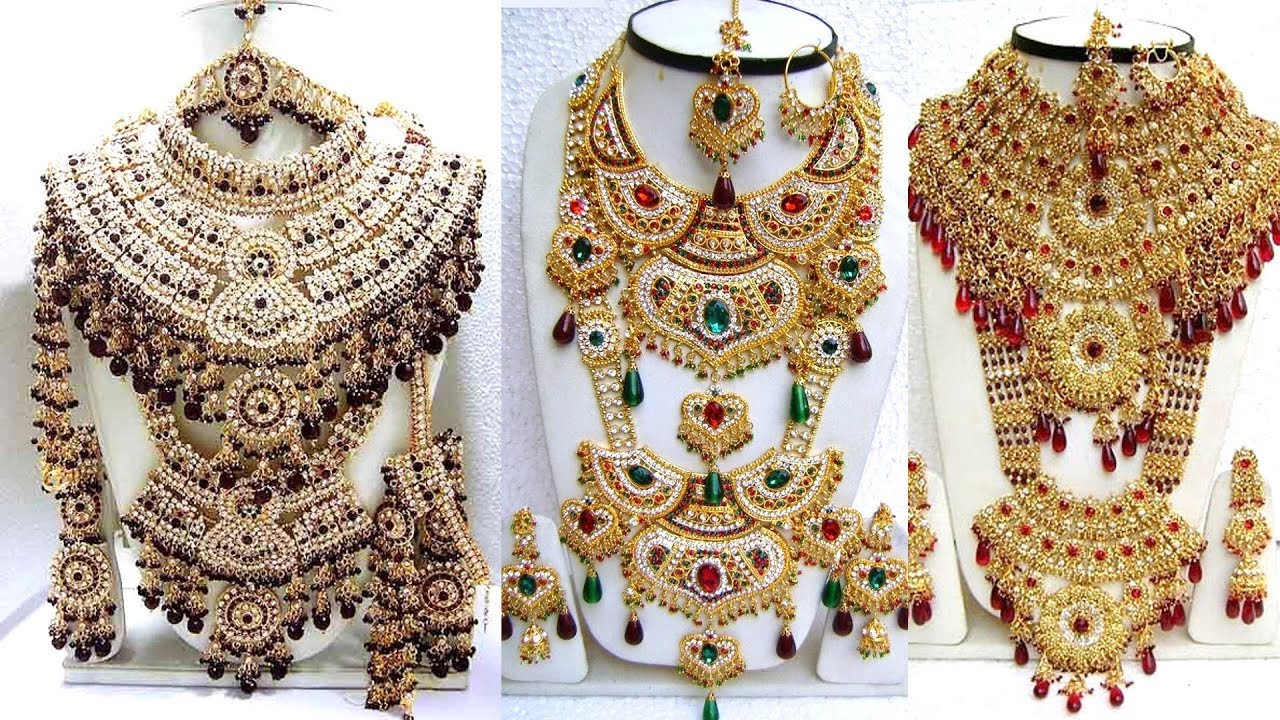 Heavy Bridal Jewellery Sets