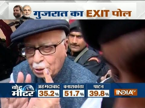 BJP will win the Gujarat Election, says LK Advani after casting his vote