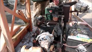 PETTER 10510 2.38 HP 1 Cylinder Diesel Engine Arrow Board Motor FOR SALE!!!