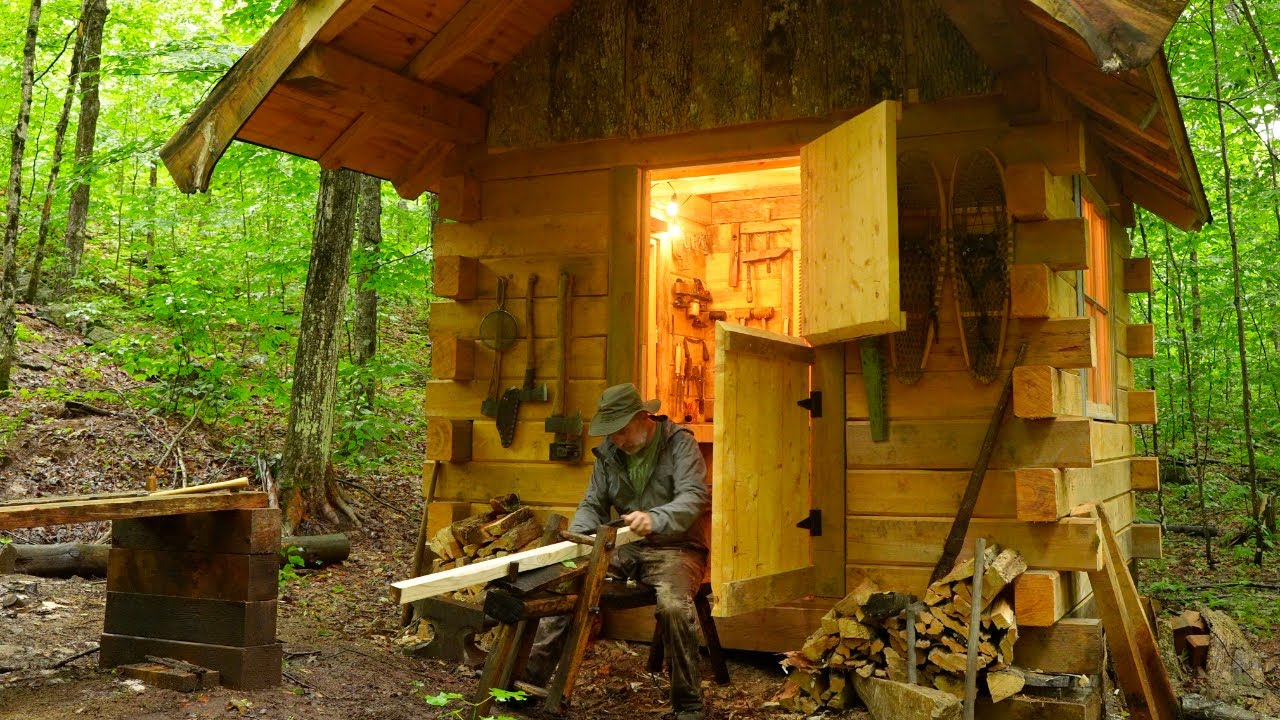 Off-Grid Workshop & Greenhouse, Tool Maintenance, Rainwater Collection, Fishing, Outdoor Cooking