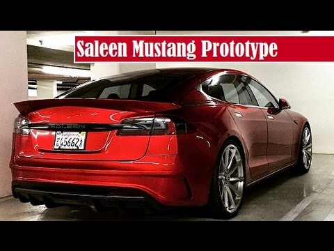 saleen mustang prototype spied parking in somewhere garage youtube. Black Bedroom Furniture Sets. Home Design Ideas