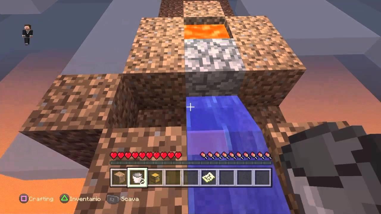 Lastra Di Legno Minecraft : Minecraft co op skyblock ep ita siamo su un isola