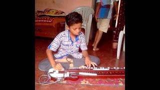 Khuda gawah..... on bulbul tarang-banjo by Adammya Shirpurkar