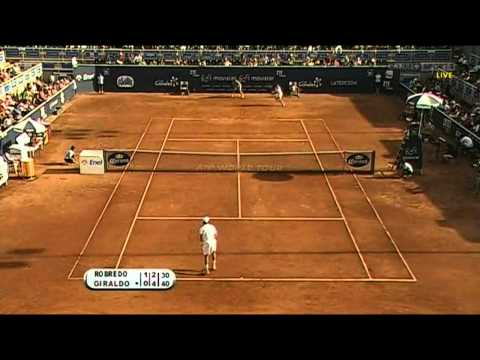 ATP250 Santiago 2011 FINAL Giraldo - Robredo (Highlights)