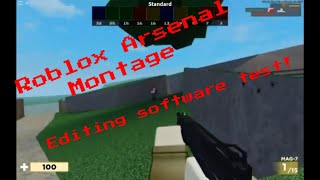 Roblox Arsenal Kill Montage - France Modification du test logiciel
