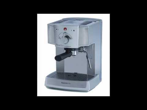 Espressione Café Retro Espresso Machine - YouTube