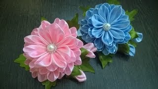 D.I.Y. Satin Kanzashi Flower - Tutorial | MyInDulzens