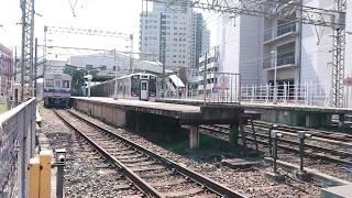 な南海高野線 北野田駅 8300系(8704+8706編成)回送通過