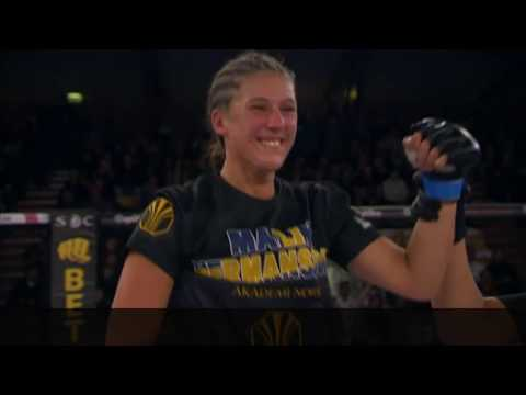Superior Challenge 20 Fitnessfestivalen Fighter Presentation Malin Hermansson