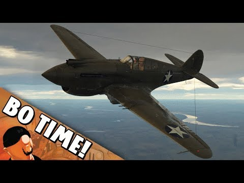 "War Thunder -  P-40C ""Like A Slap Chop To Heart"""