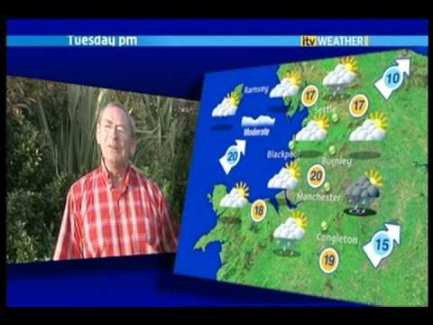Fred Talbot Weather Man 24 08 09
