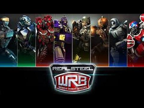 Primeiro Video do canal Jogando Real Steel World Robot Boxing