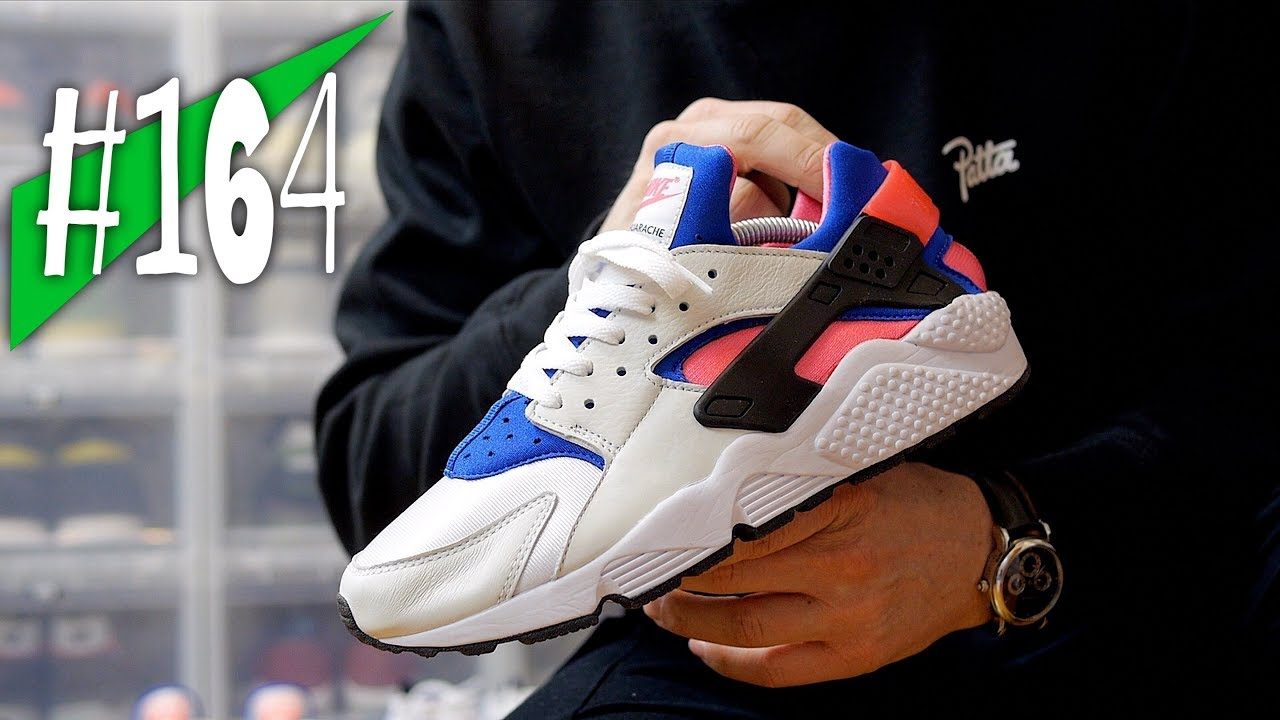 db8e5058fa77  164 - Nike Air Huarache Run `91 QS (2017) - Review on feet - sneakerkult