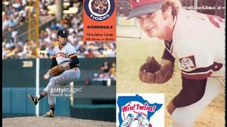 Detroit Tigers at Minnesota Twins WJR Radio Broadcast June 17 1978