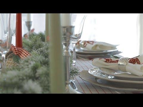 Сервировка новогоднего стола. Советы от компании Кухонный Двор.
