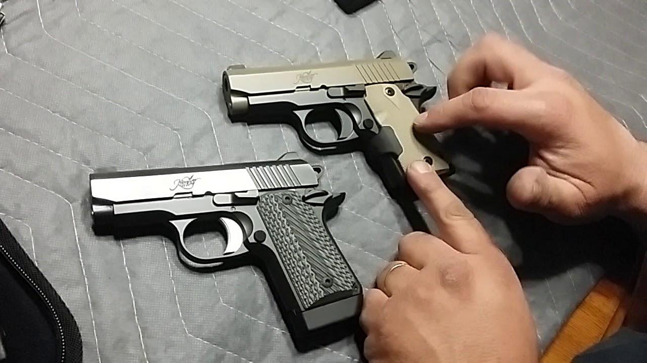 Kimber Micro Carry CDP LG Pistol w Crimson Trace Lasergrips