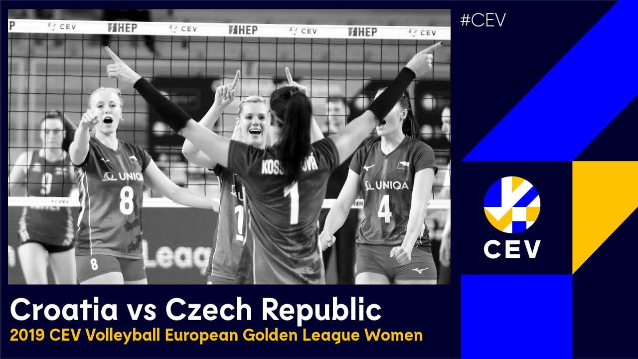 Czech Republic vs Croatia FULL MATCH - 2019 CEV Volleyball European Golden League Women
