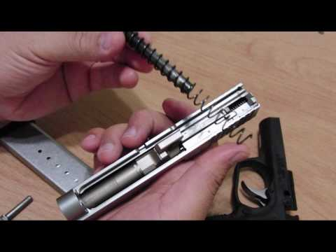 Kahr CW9 Field Strip and Cleaning Guide