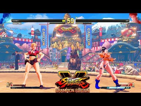 Street Fighter V CE Sakura vs Cammy PC Mod |