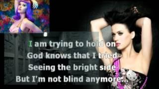 Katy Perry - Wide Awake karaoke com back vocal