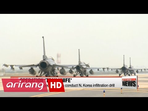 S. Korea-U.S. Special Forces conduct N. Korea infiltration drill
