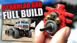 Tamiya Dynahead 6X6 G6-01TR: In-Depth Build Video