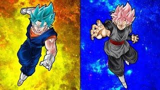SSR Analysis | Vegetto Blue vs Super Saiyan Rose Goku Black | DBZ Dokkan Battle
