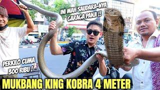 Download lagu KING KOBRA PANGGANG KAKI LIMA. DAGINGNYA MANIS, TARINGNYA EMPUK.