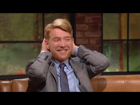 A blast from the past for Domhnall Gleeson  The Late Late   RTÉ One