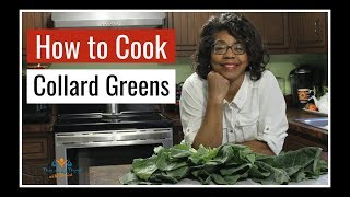How to Cook Collard Greens | Thanksgiving Side Dishes | Thanksgiving 101