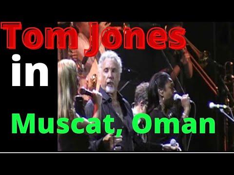 Sir Tom Jones (Final Song) in Muscat, Oman!