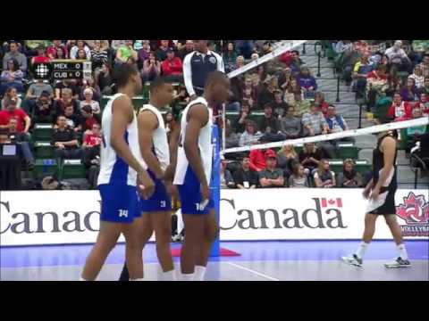 Cuba vs Mexico Full 2016 Volleyball Olympic Qualification - Norceca Mens