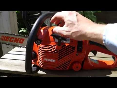 Review Echo motor saw ES 352 - 동영상