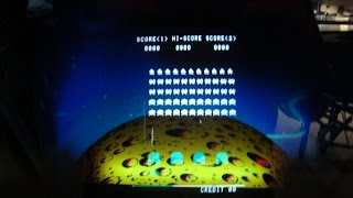 Classic 1978 Midway Space Invaders Arcade Game!  - Gameplay, Cabinet Design, Artwork