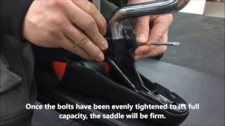 JLL® Indoor Cycling™ Bike - Saddle Adjustment