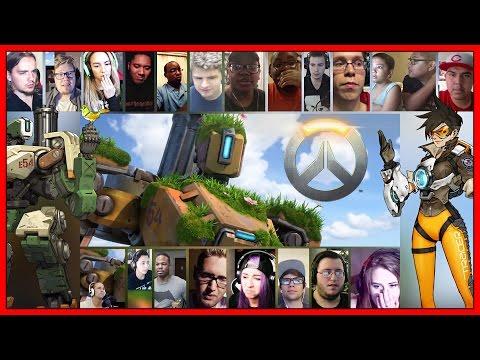 Overwatch Animated Short The Last Bastion Reactions Mashup