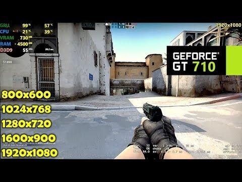 GT 710 | CSGO - 1080p, 900p, 720p, 1024x768, 800x600