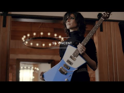 St. Vincent's Ernie Ball Music Man Signature Guitar with Guitar Center