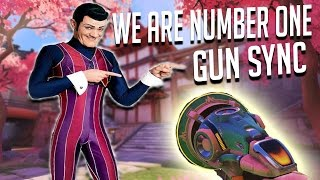 We are number one but its an Overwatch gun sync