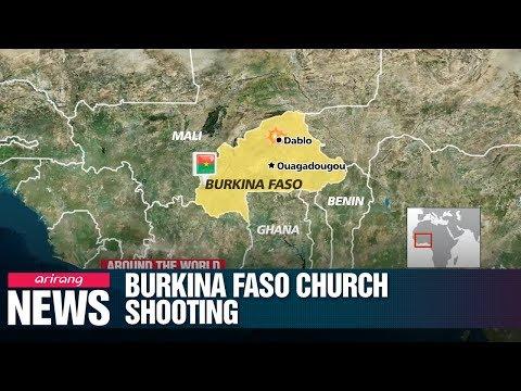 Six killed in Burkina Faso church attack