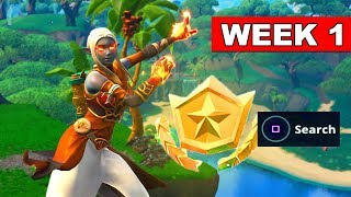 SECRET BATTLE STAR WEEK 1 SEASON 8 LOCATION Loading Screen Fortnite – WEEK 1 SECRET BANNER REPLACED