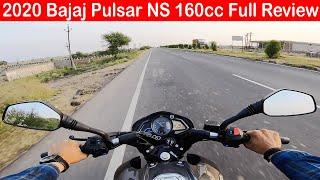 2020 Bajaj Pulsar NS160 BS6 Full Review l Top Speed l Stable Bike in The Segment l Aayush ssm 🔥