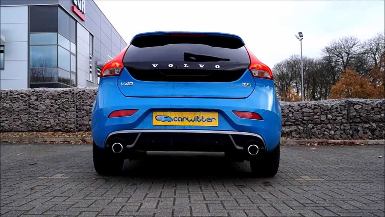 volvo v40 t5 exhaust sound revving youtube. Black Bedroom Furniture Sets. Home Design Ideas