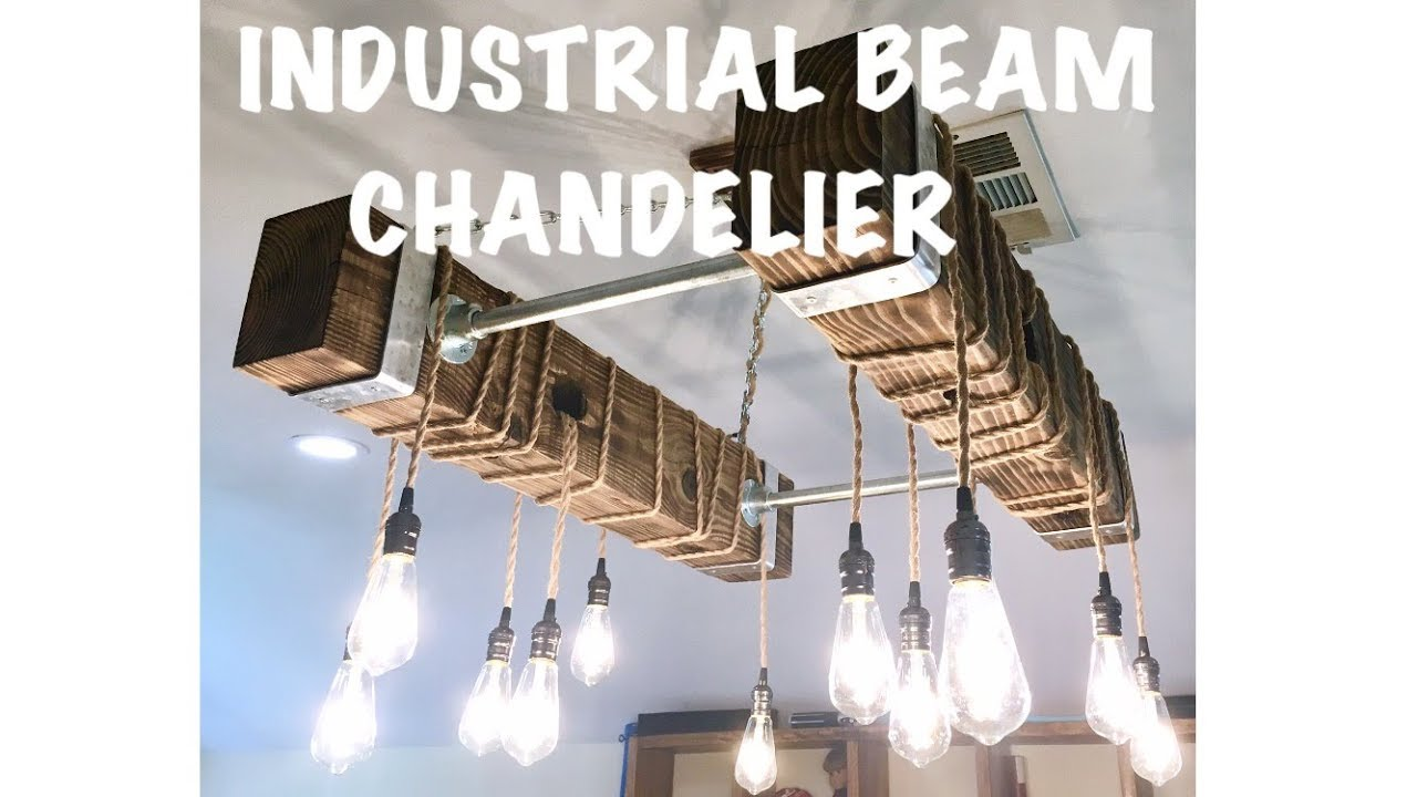 Industrial edison bulb chandelier diy youtube industrial edison bulb chandelier diy arubaitofo Images