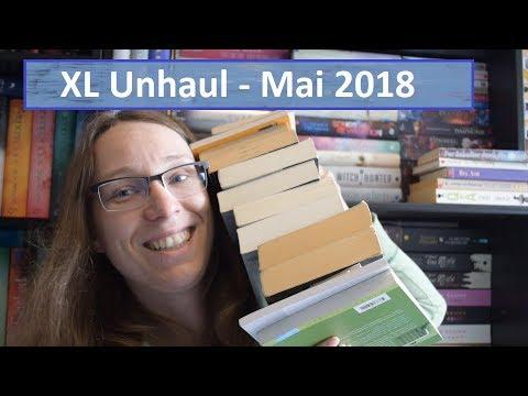 XL Unhaul - Mai 2018- Diese Bücher müssen ausziehen...
