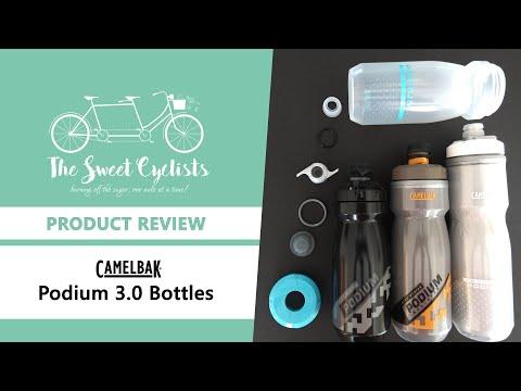 The Redesigned CamelBak Podium 3.0 Bottles Dirt Series + Ice + Chill Bottles Reviewed