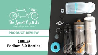 The Redesigned CamelBak Podium 3.0 Bottles - Dirt Series + Ice + Chill Bottles Reviewed