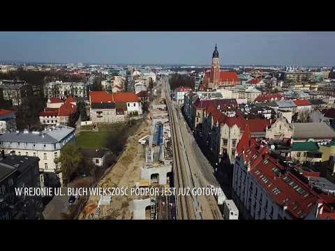 Kraków: postępy w budowie estakad kolejowych